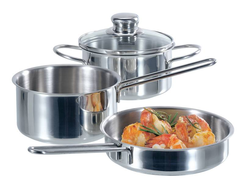 Набор посуды 3 предмета Серия Snack Set, Fissler