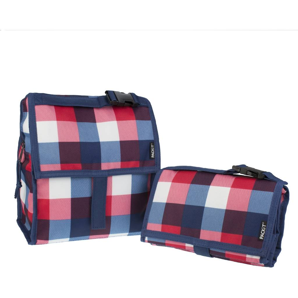 Сумка холодильник Lunch Bag Buffalo Check